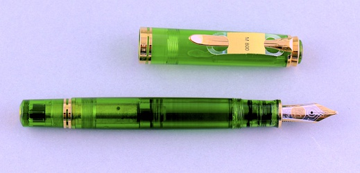 image for Pelikan Green Transparent M800