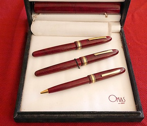 image for OMAS Amerigo Vespucci 3 pc set