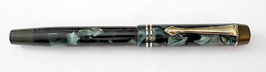 image for Montblanc blue marbled 322