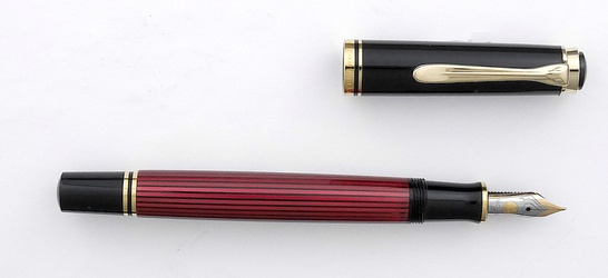 image for Pelikan M600 red stripe