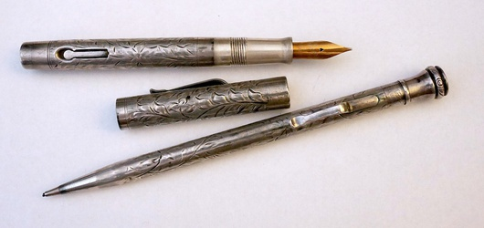 image for Wahl/Eversharp Hand Engraved Vine Set