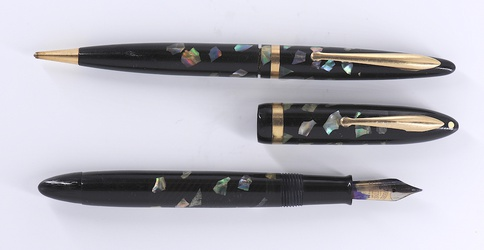 image for Sheaffer's Balance Jr. Ebonized pearl (set)
